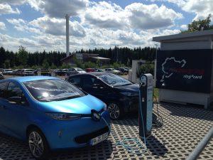 Renault_ZOE_Ladesaeule_RWE_Nuerburgring