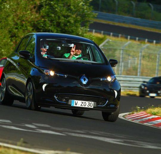 Renault ZOE Nordschleife