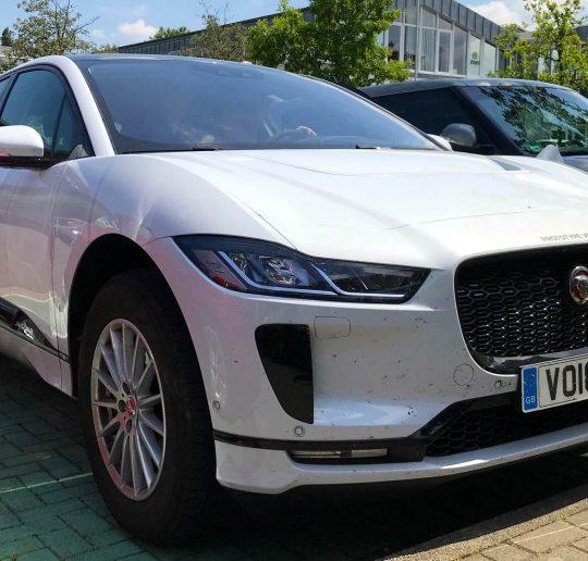 Probefahrt Jaguar iPace