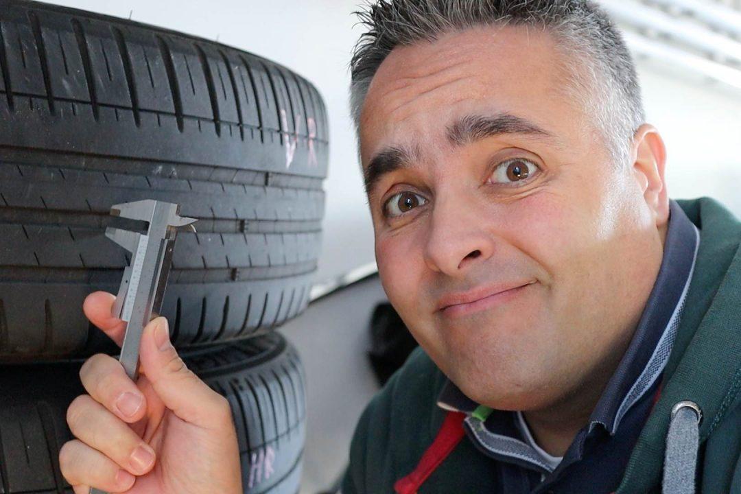 Tesla Reifenverschleiß
