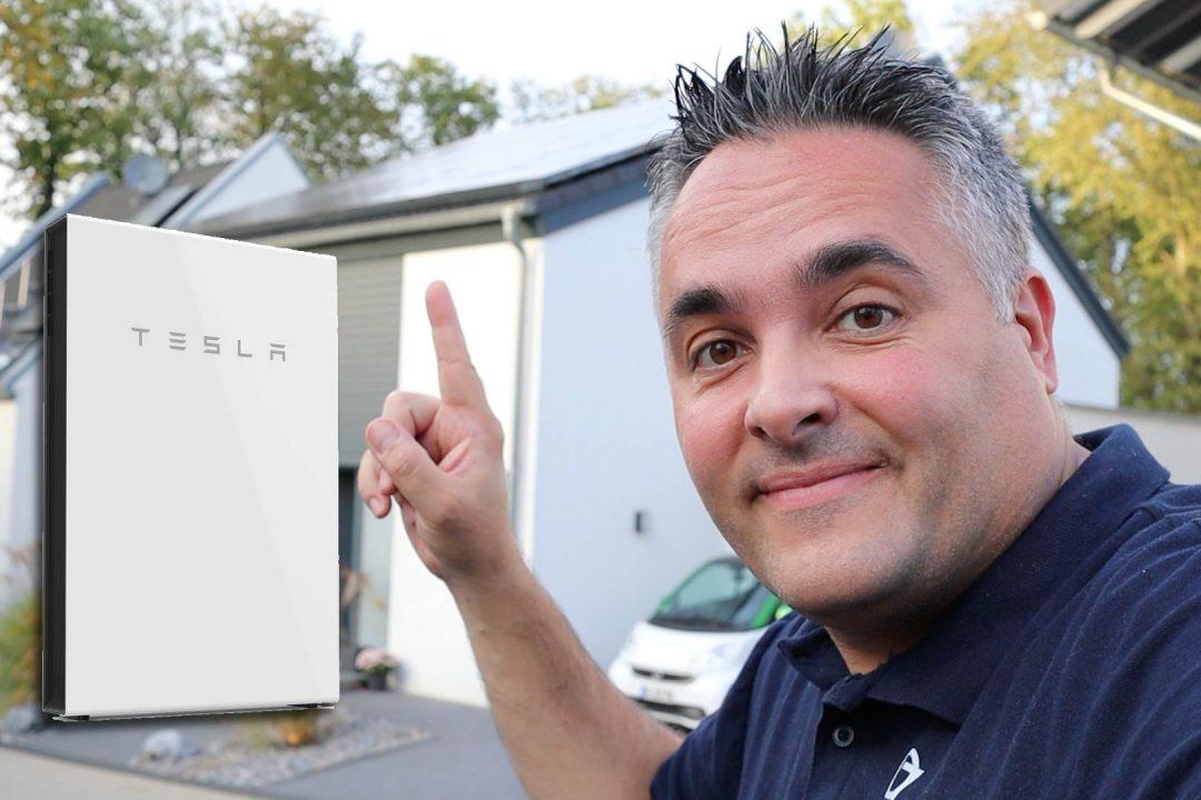 Tesla Powerwall Batteriespeicher für unser Haus