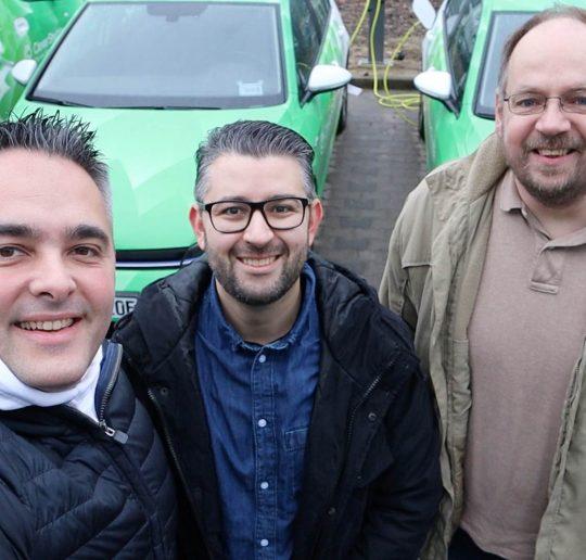 CleverShuttle Ridepooling Vorgeschmack auf Schwarm-Mobilität der Zukunft