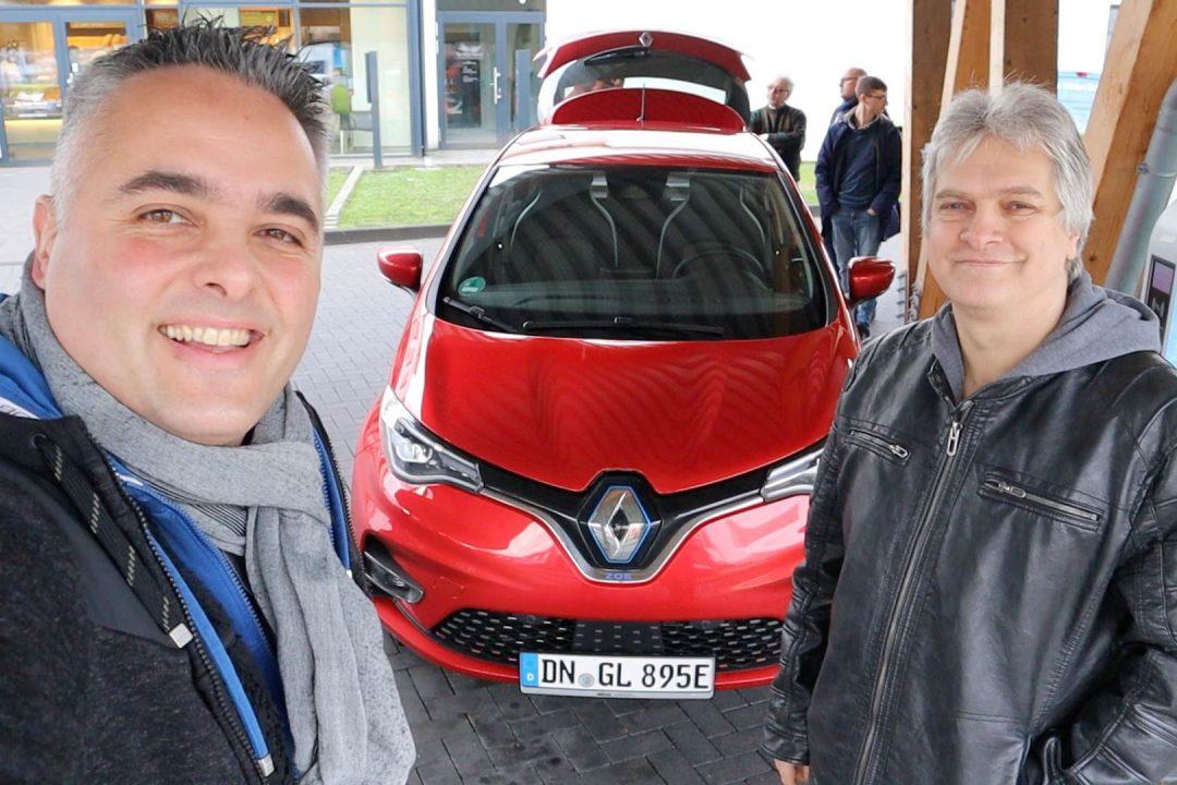 Renault ZOE ZE50 Testbericht Erfahrung Vergleich altes Modell