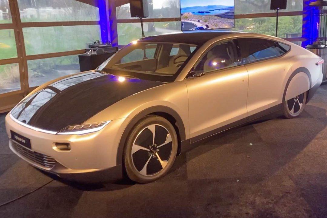 Lightyear One Vorstellung Elektroauto Solarstrom Solarauto