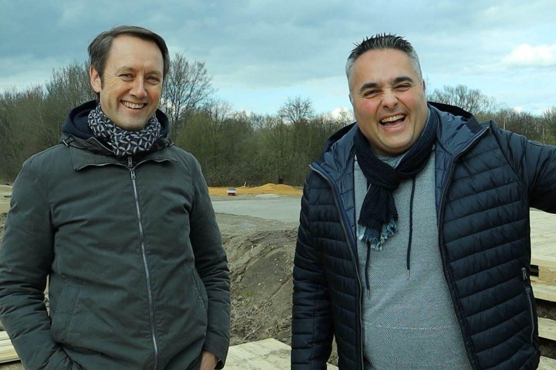 Neuigkeiten Seed and Greet Ladepark Hilden Tesla Supercharger Uwe Düne Drohne
