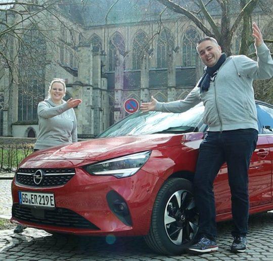 Probefahrt Elektroauto Opel Corsa-E