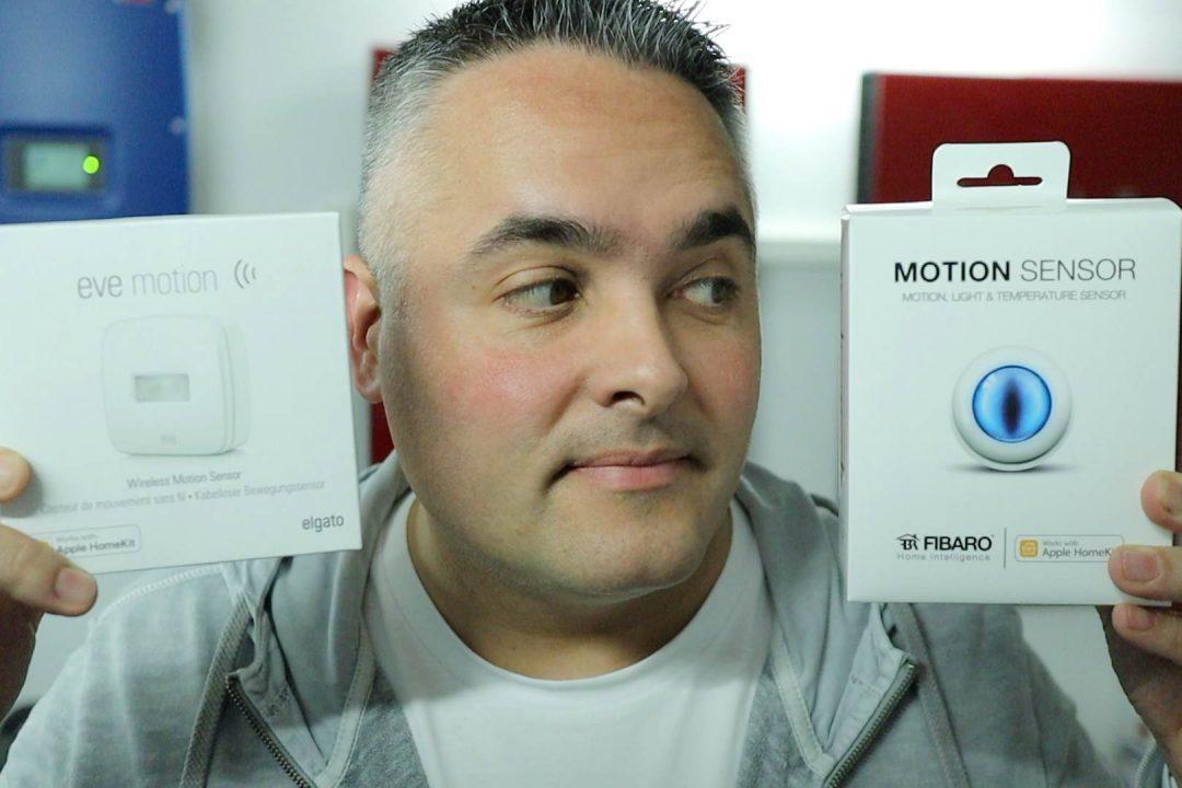 Smarthome Bewegungsmelder HomeKit Fibaro eve motion sensor