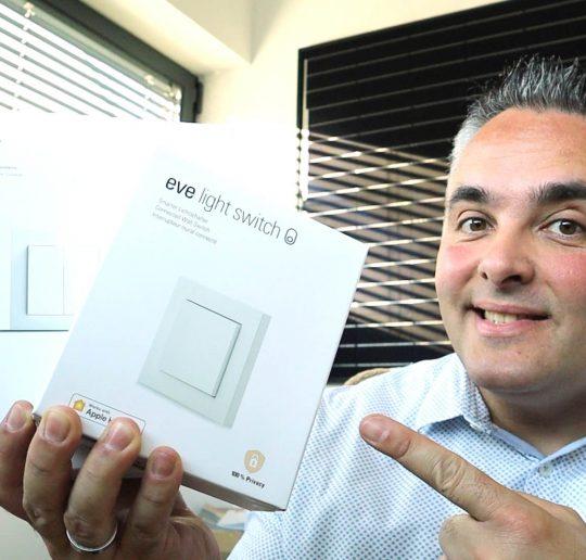 Homekit Smarthome Philips HUE Senic Lichtschalter Eve Light Switch