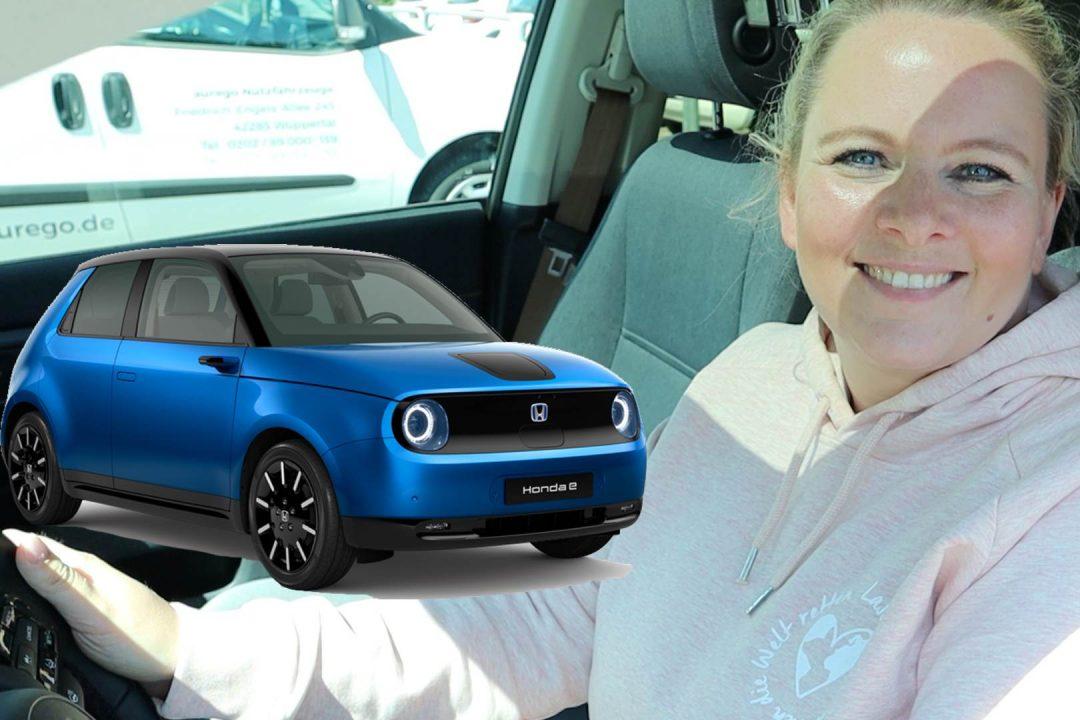 Honda e Advance Probefahrt Elektroauto Test