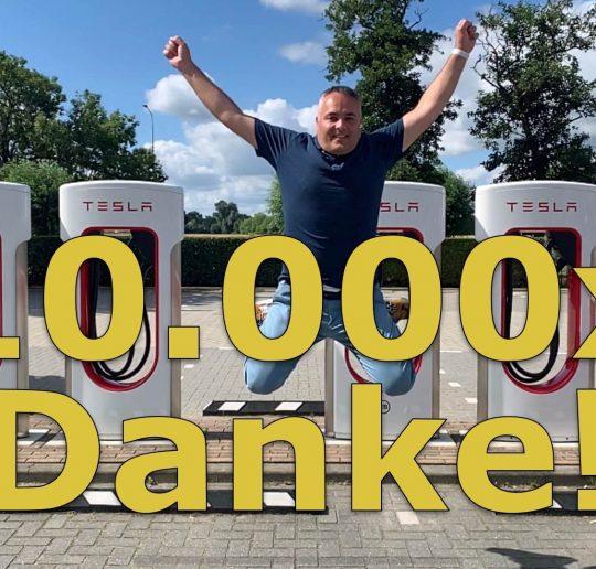 DANZEI Blog 10000 Abonnenten Danke VW ID3 Preis