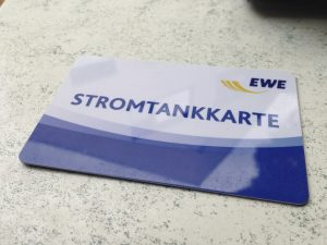 EWE-Ladekarte