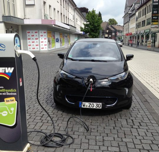 Renault_ZOE_BEW-Ladestation_Wermelskirchen