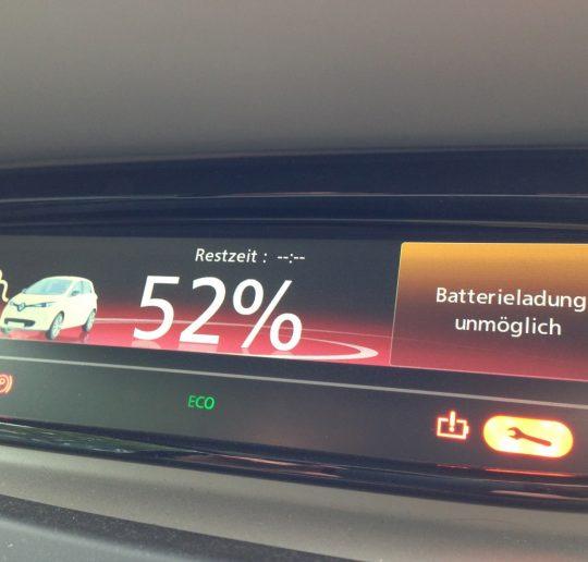 Renault_ZOE_Batterieladung_unmoeglich