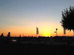 Düsseldorf_Sonnenuntergang