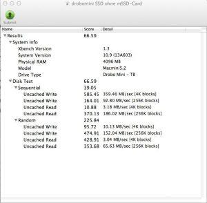 DroboMini mit SSDs