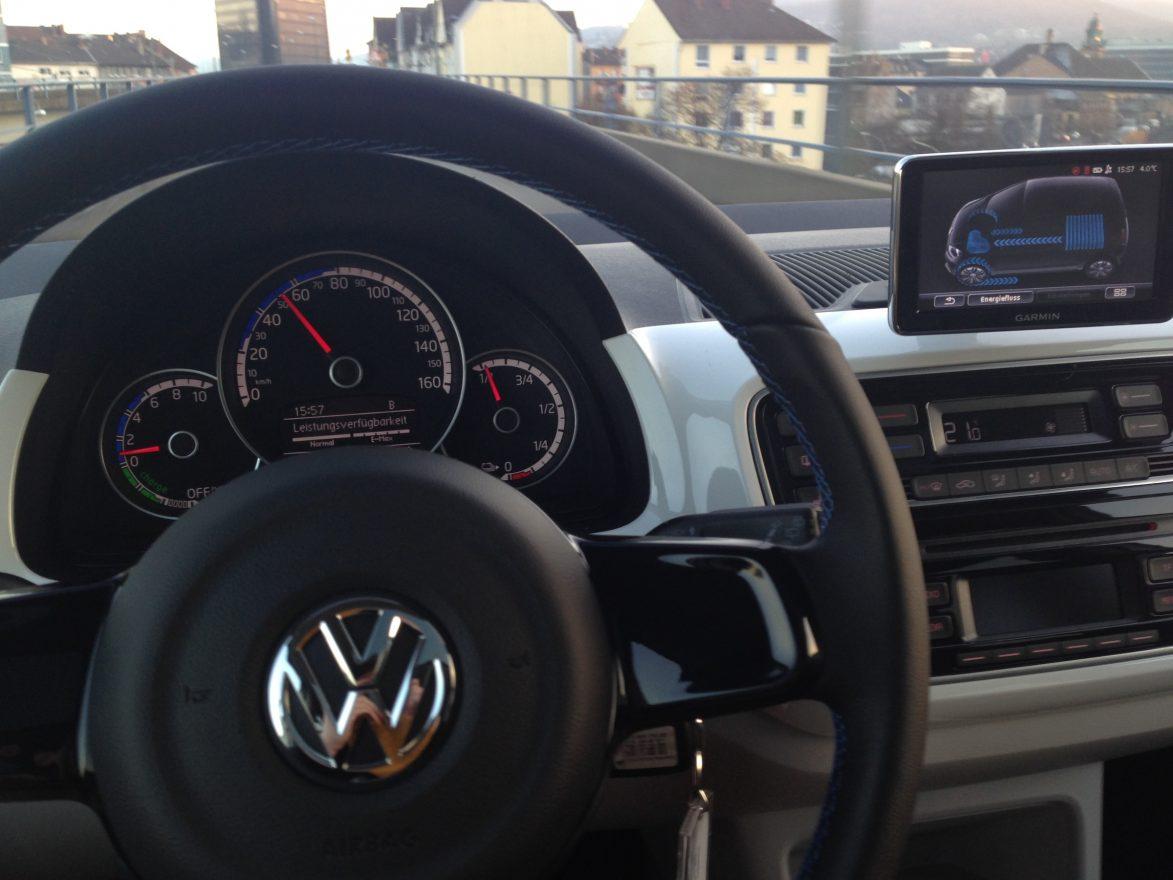 Innenraum VW e-up!