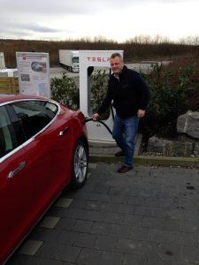 Supercharger am Autohof