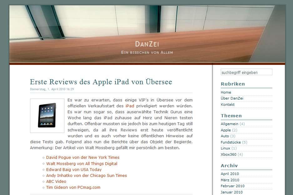 DanZei_Webseite_2010_Titelbild