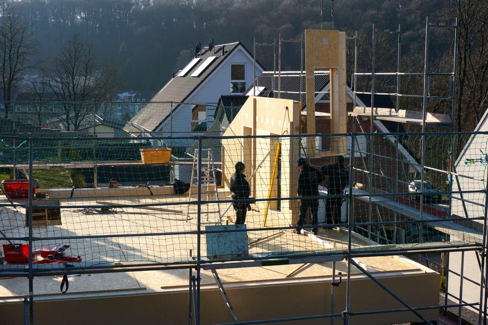 Petershaus_Baublog_8_Aufbau_Obergeschosswand