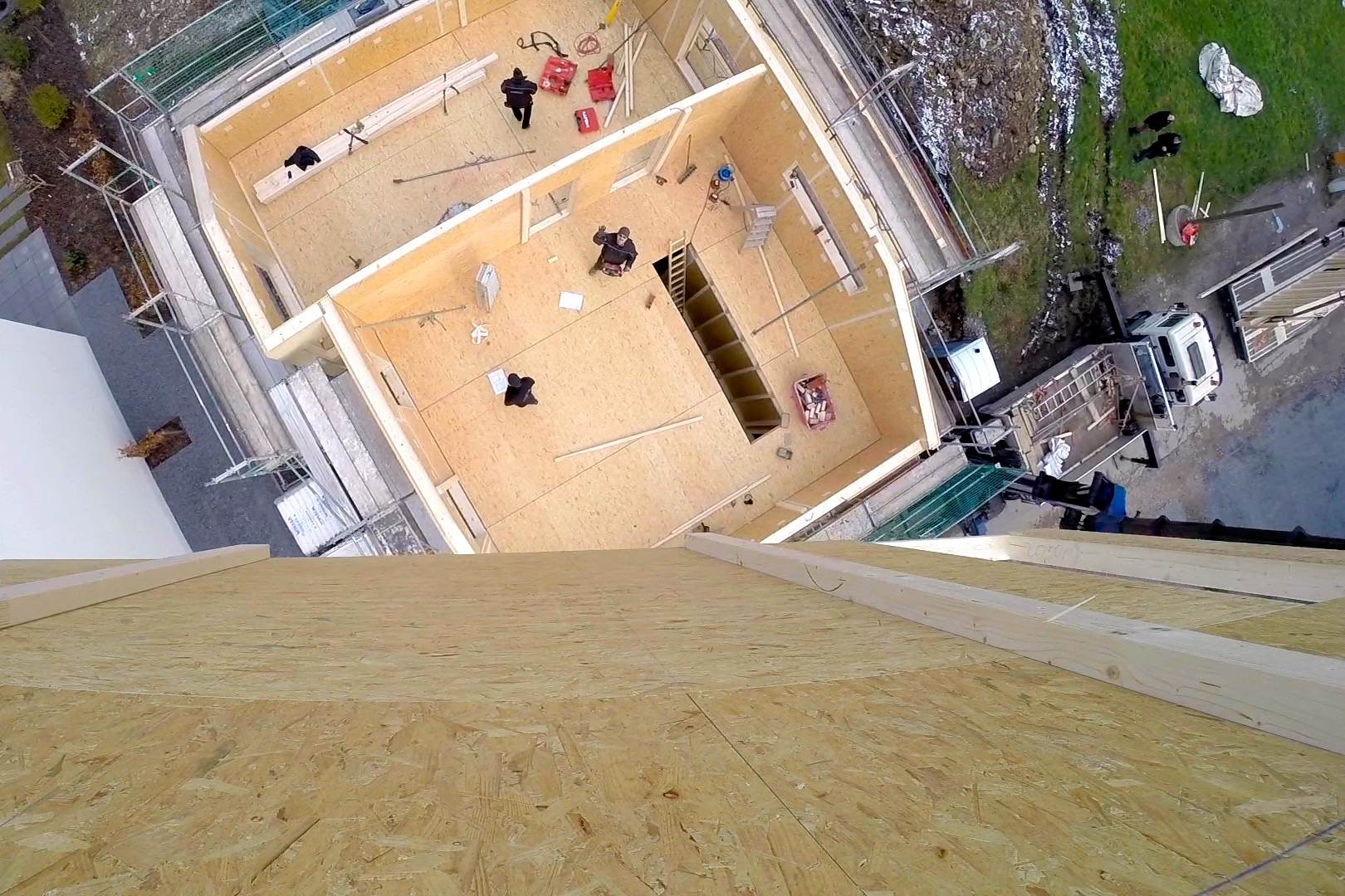 Petershaus_Baublog_8_Vogelperspektive_GoPro_Kran_Obergeschoss