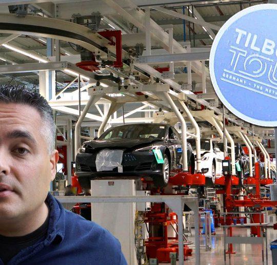 Tesla Tilburg Factory Tour