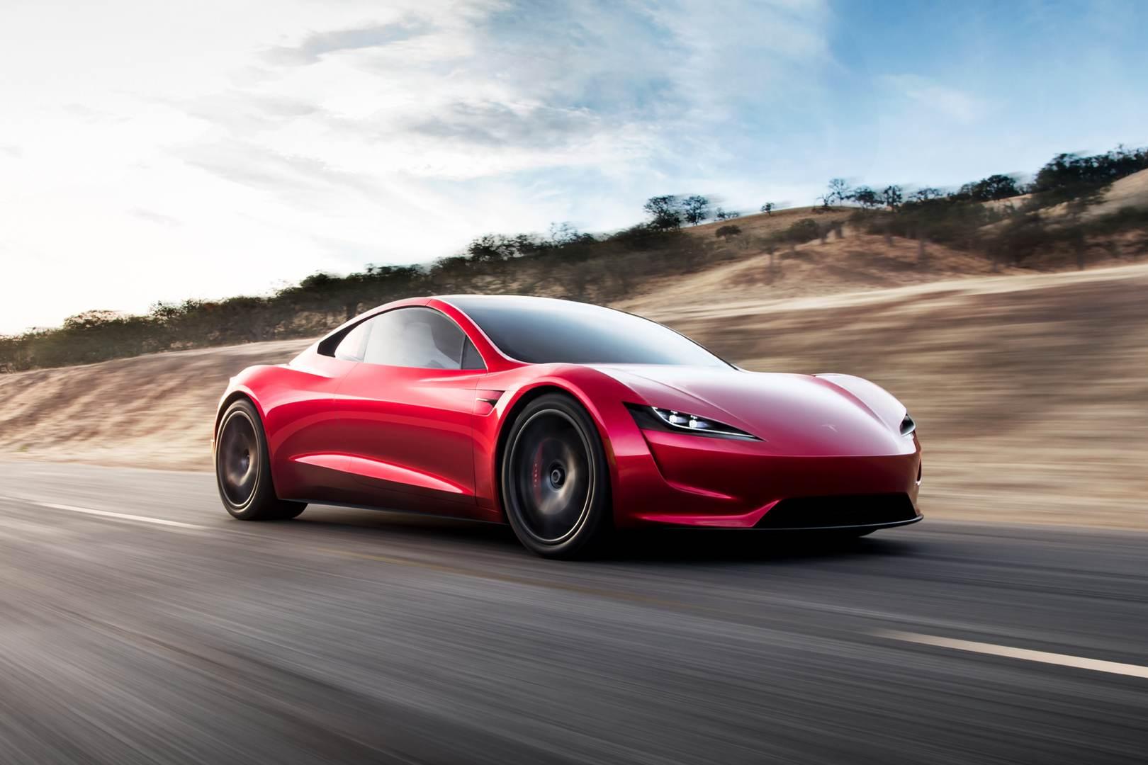 Tesla Roadster_rot_vorne_Blog