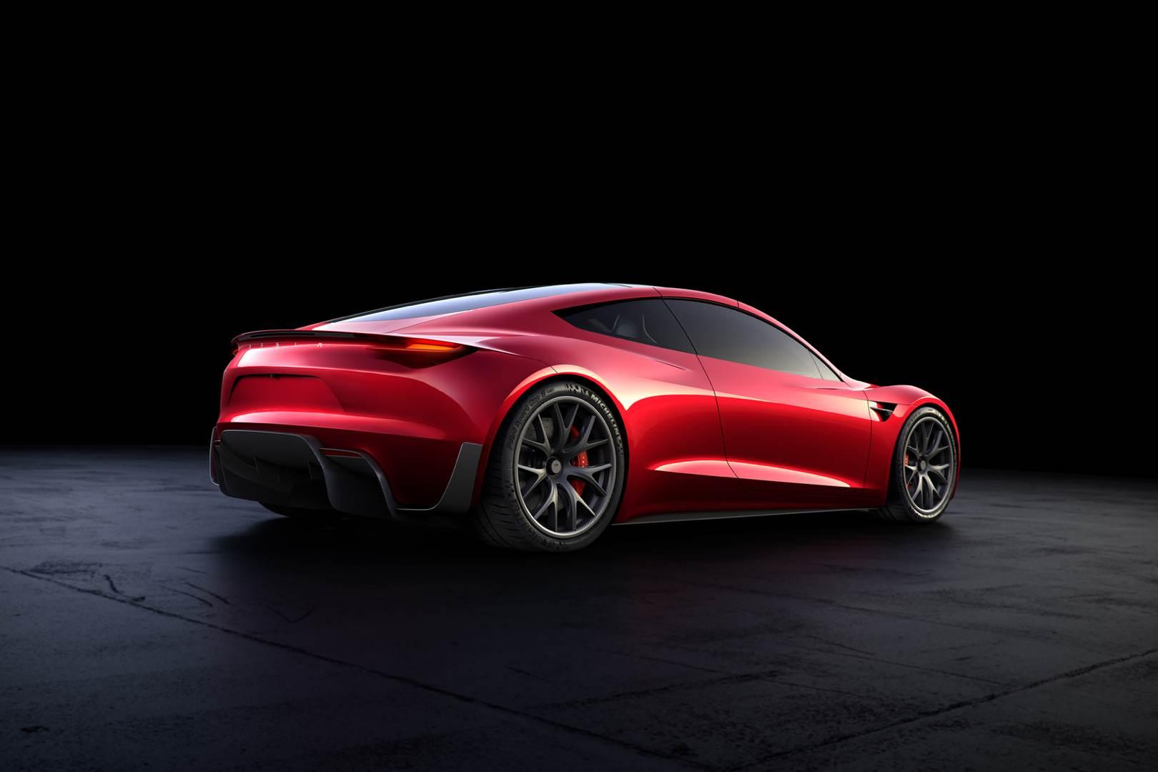 Tesla_Roadster_rot_hinten_Blog