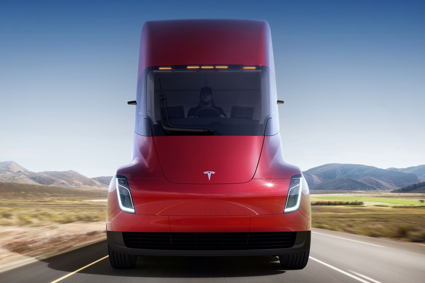 Tesla_Semi_LKW_vorne_rot