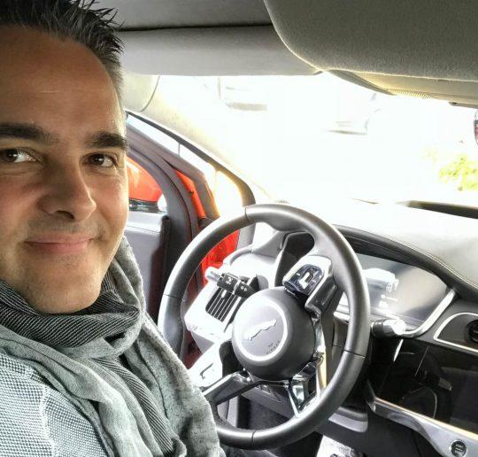 Ich wurde entführt auf eine Probefahrt des Jaguar iPace