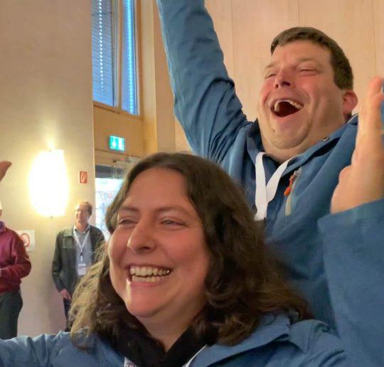 Sieger BEW Elektroauto Rallye