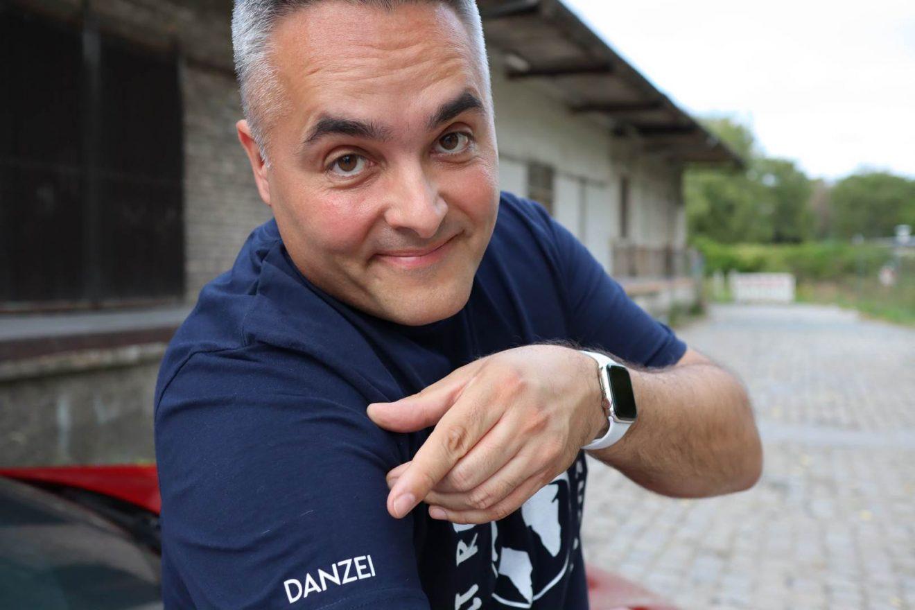 Nino DANZEI T-Shirt blau buzzingDANZEI