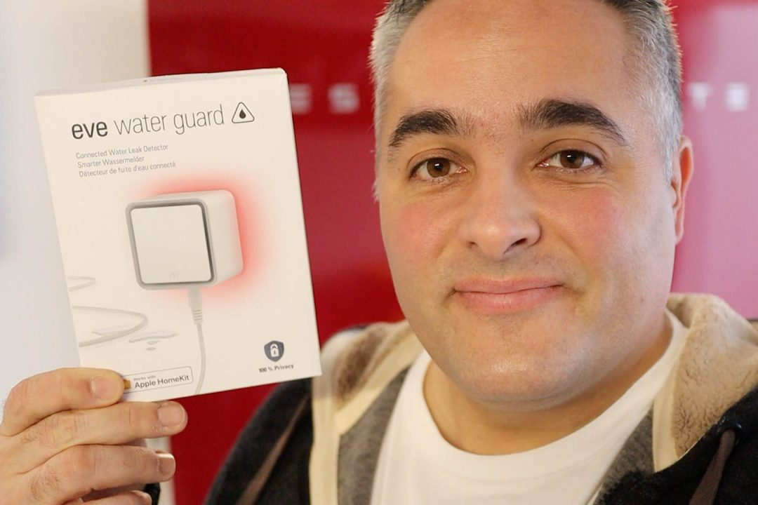 eve water guard HomeKit Wassersensor im Test