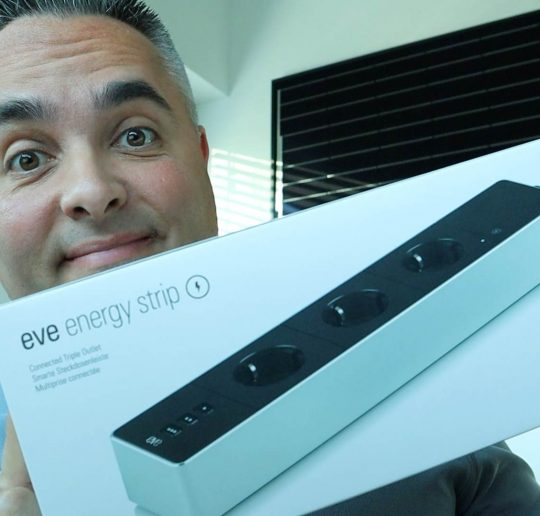 Eve Energy Strip Test HomeKit Steckdosenleiste