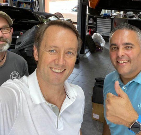 Tesla Roadster Mars Orbiter Werkstatt 400km Club