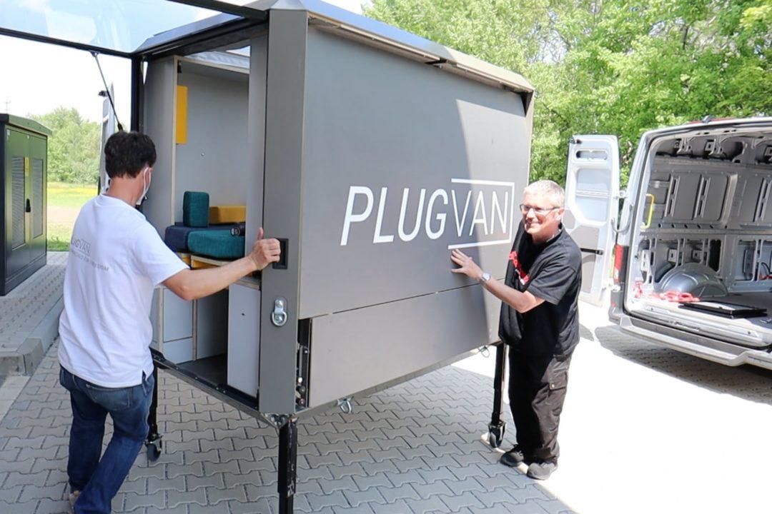 Titelbild PlugVan VW e-Crafter Elektroauto Camper Nordkapp Tour