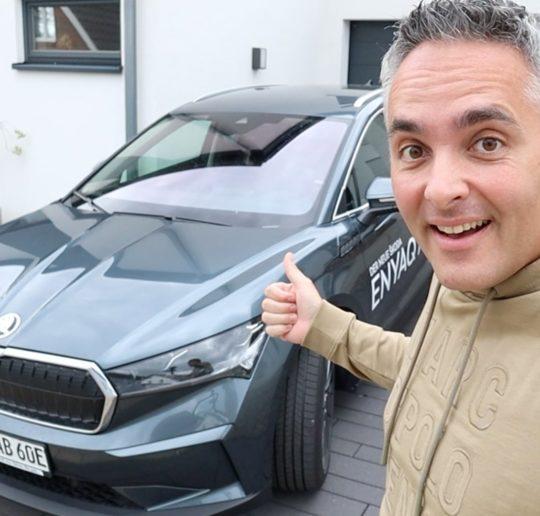 Probefahrt Skoda ENYAQ iV 80 Elektroauto Test Vergleich Highlights