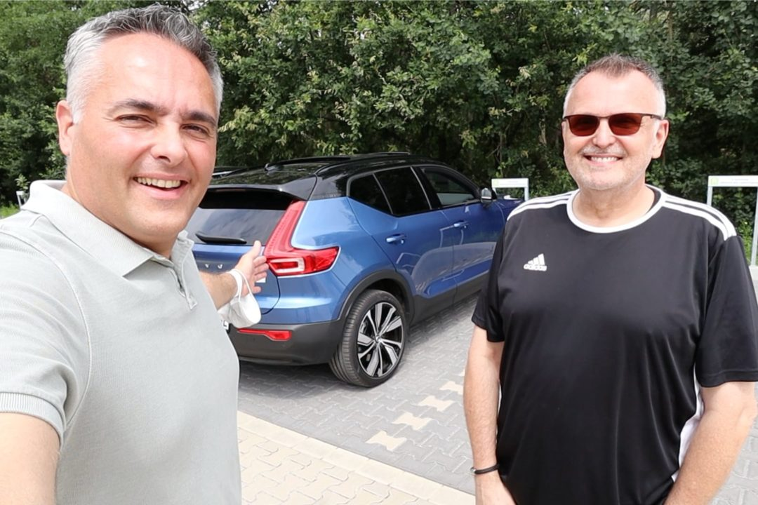 Volvo XC40 P8 AWD Recharge Elektroauto Abo Mieten