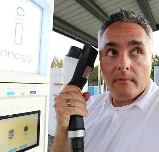 Elektroauto Ladepark Duisburg Innogy EON eauto Ladestation Problem