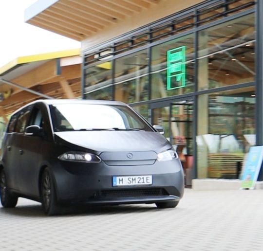 Sono Motors Sion Probefahrt Ladepark Kreuz Hilden Seed Greet Solarauto