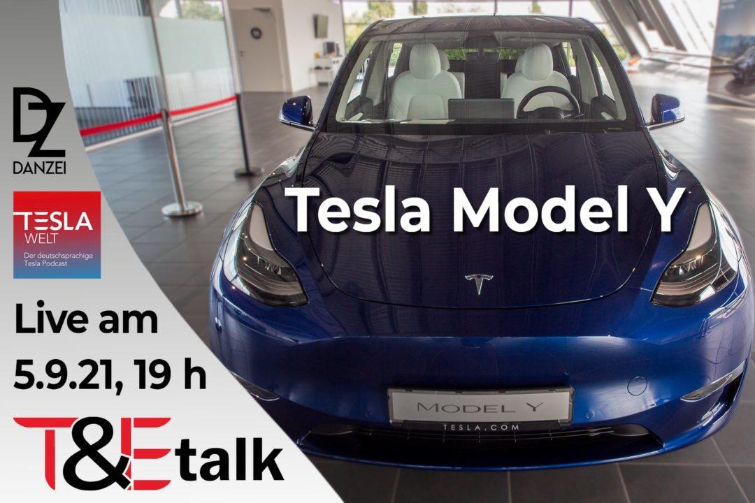 T&Etalk Tesla Model Y Vergleich Model 3 Model X Ladepark Hilden